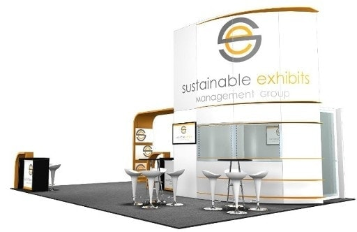 20 x 30 Las Vegas Trade Show Booth Builder