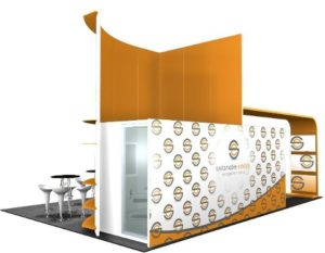 20 x 30 Las Vegas Trade Show Booth Builder