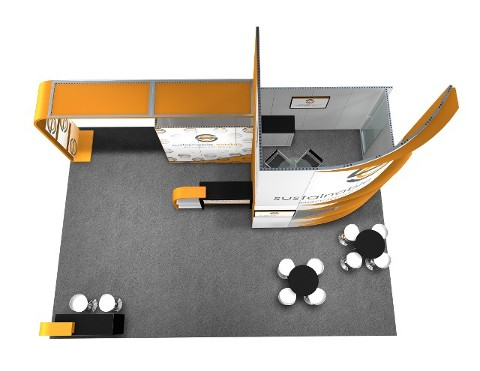 20 x 30 Las Vegas Trade Show Booth Builder 3