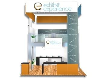 20 x 20 Orlando Trade Show Booth Builder