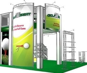 20 x 20 Local Las Vegas Tradeshow Builder