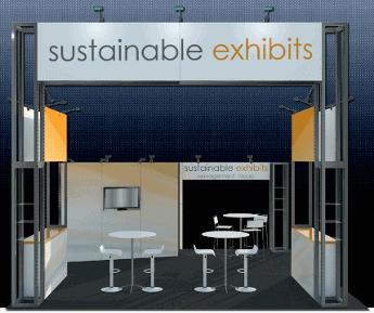 20 x 20 Peninsula Exhibit Rental Maxis B 2