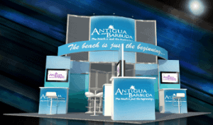 20 x 20 Turnkey Trade Show Booth Rental