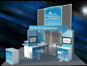20 x 20 Turnkey Trade Show Booth Rental 2