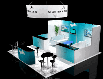20 x 20 Tradeshow Exhibit Rental A-1 2