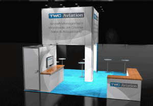 20 x 20 NRF Expo Booth Builder