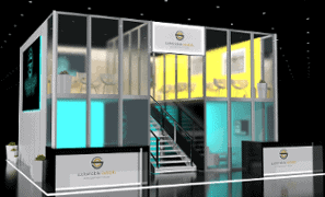 30 x 40 Trade Show Exhibit Rental