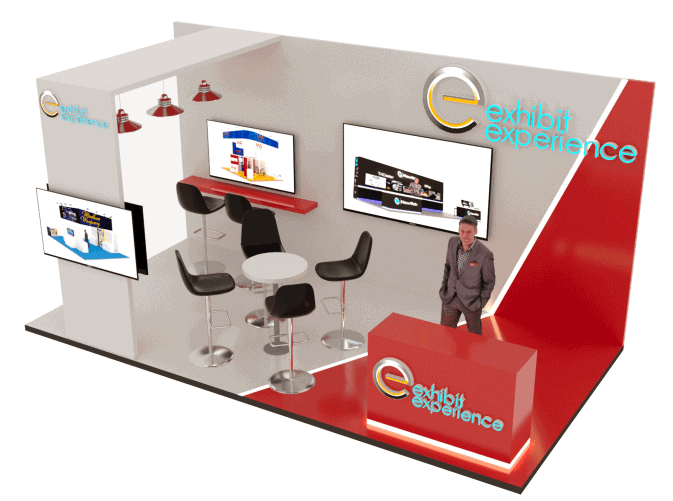 10 x 20 Trade Show Exhibit Rental