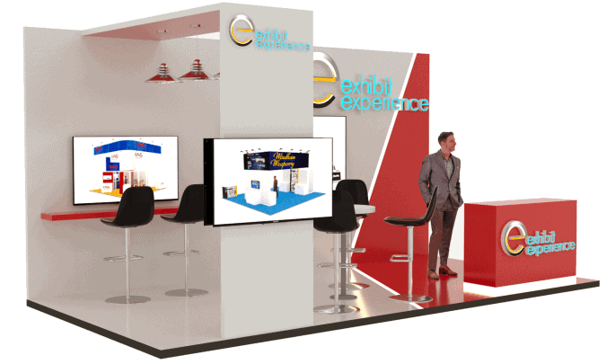 10 x 20 Trade Show Exhibit Rental 3