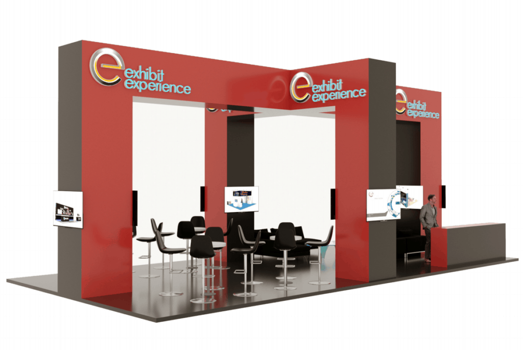 20 x 40 Trade Show Exhibit Builder