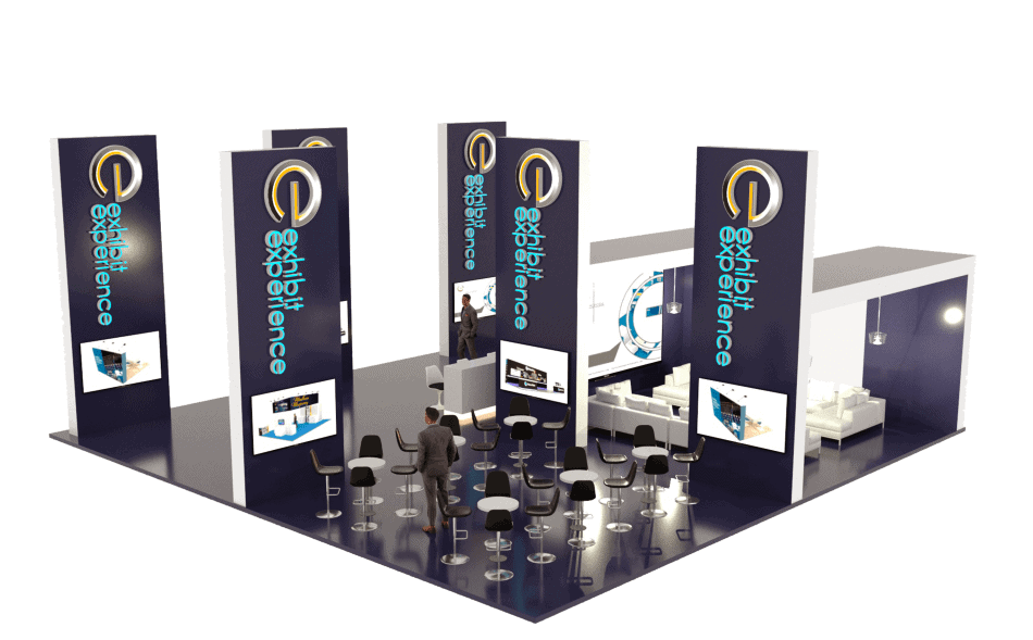 40 x 40 Trade Show Booth Rental