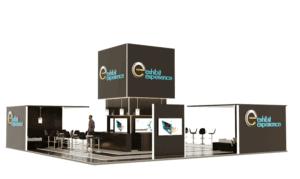 40 x 40 Pro Food Tech Exhibit Rental