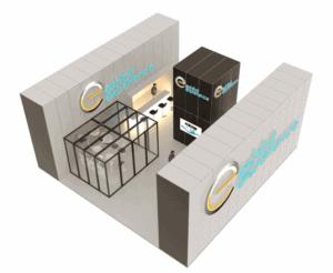 40 x 40 Turn-Key Booth Builder