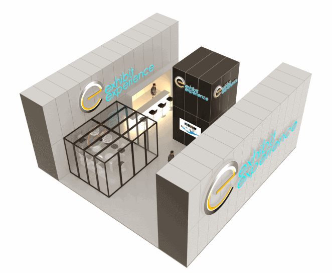 40 x 40 Turn-Key Booth Builder
