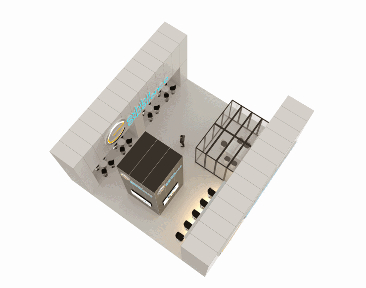40 x 40 Turn-Key Booth Builder 2