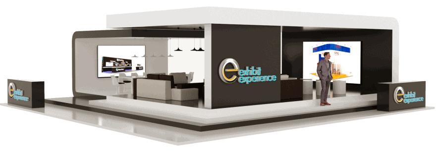 50 x 50 CES Trade Show Exhibit Rental V–23 3