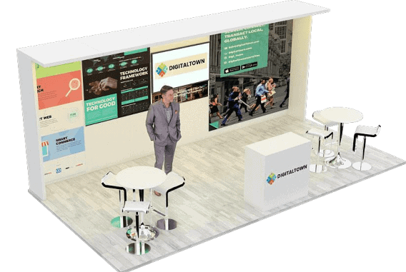 10 x 20 CES Tradeshow Booth Rental