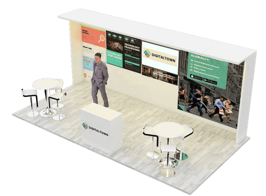 10 x 20 CES Tradeshow Booth Rental 2