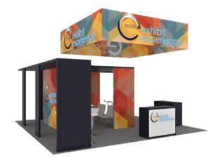 20 x 20 IAAPA Orlando trade show booth rental