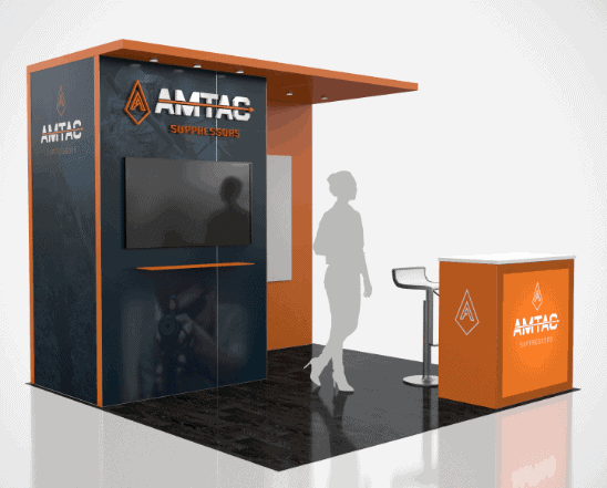 10 x 10 NBAA Exhibit Builder