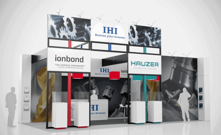 10 x 20 International Manufacturing Technology Exhibit Rental