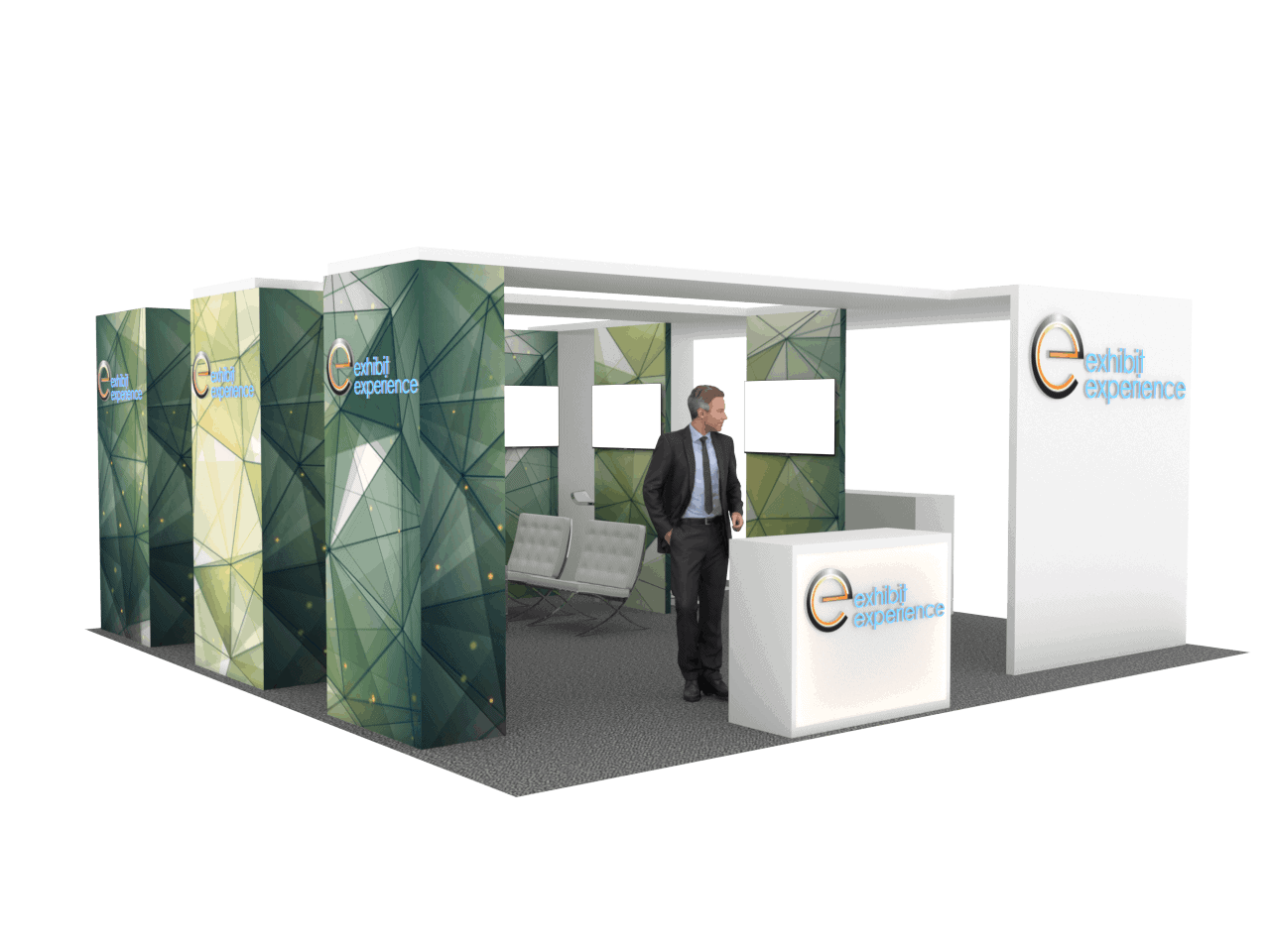 20 x 20 Orlando Tradeshow Exhibit Rental
