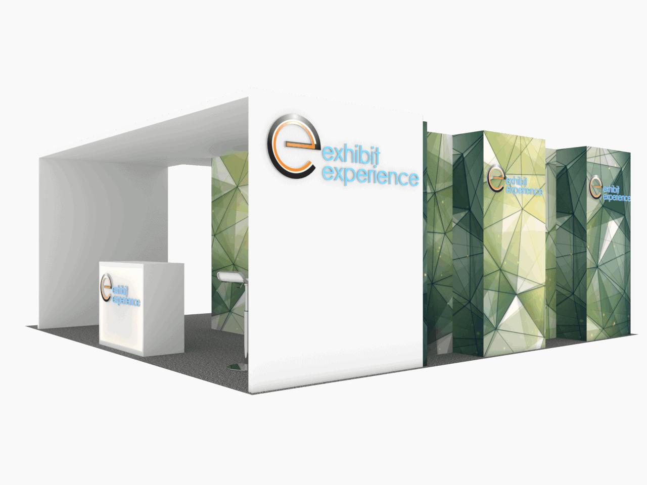 EE 20x20 Trade Show Exhibit Rental 2018 3