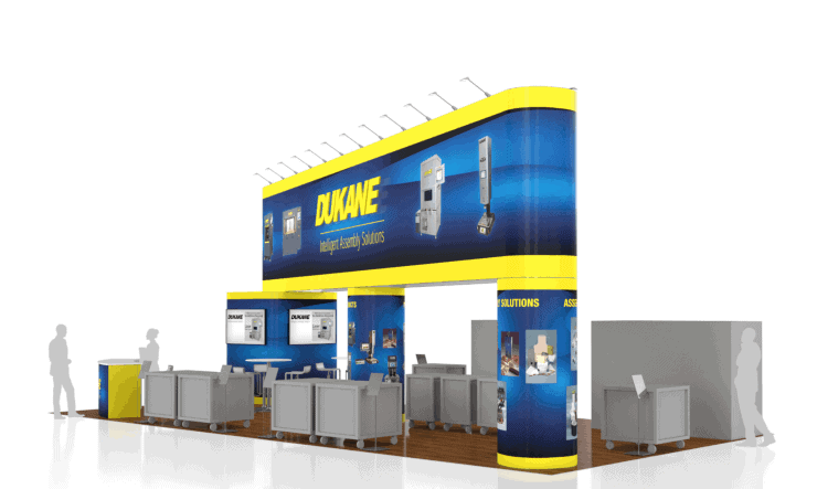 20 x 40 Seatrade Exhibit Builder 5