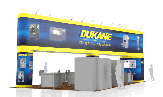 20 x 40 Seatrade Exhibit Builder 4