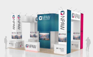 20 x 30 NAB Trade Show Stand