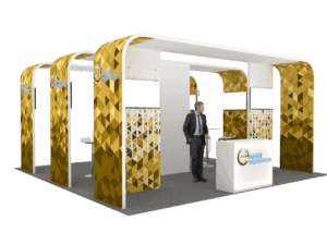 20 x 20 Local Tradeshow Booth Builder