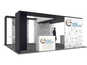 20 x 20 railway interchange 2019 Expo booth rental