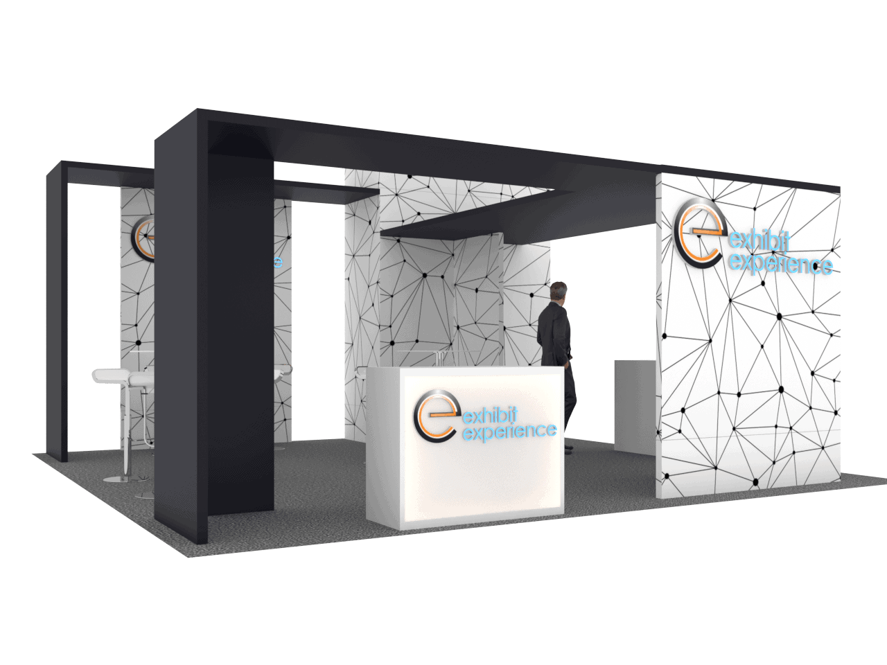 20 x 20 Railway Interchange Expo Booth Rental