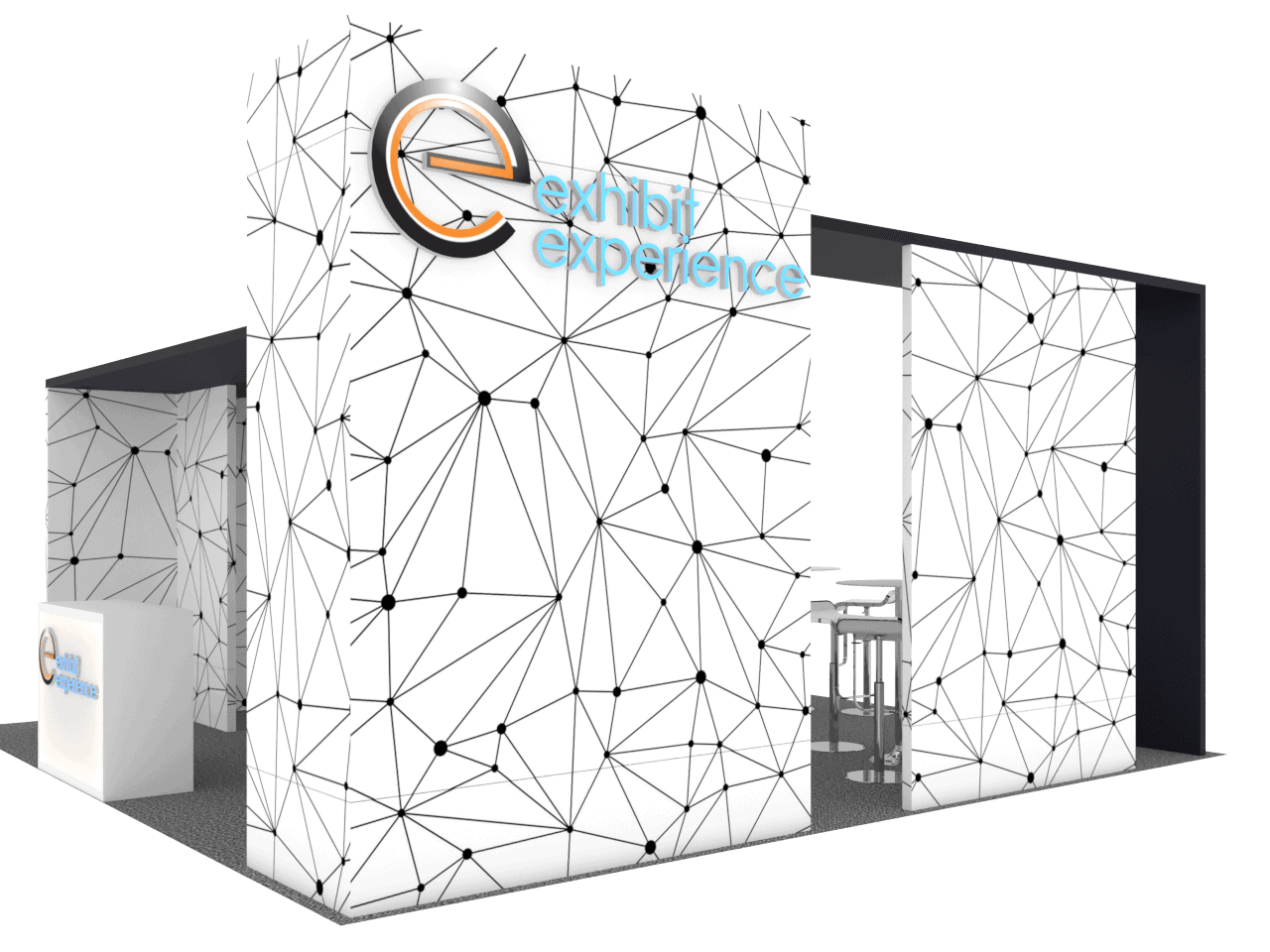 20 x 20 railway interchange 2019 Expo booth rental