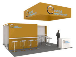 20 x 20 Pack Expo Trade Show Booth Rental