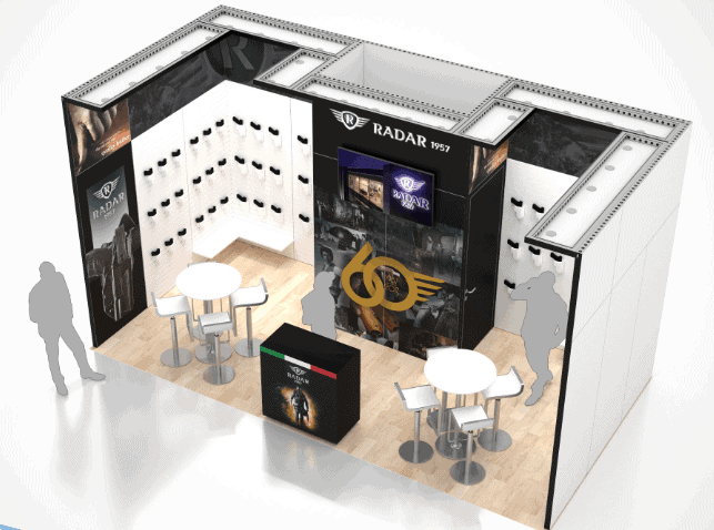 10 x 20 Local Las Vegas Trade Show Exhibit Rental