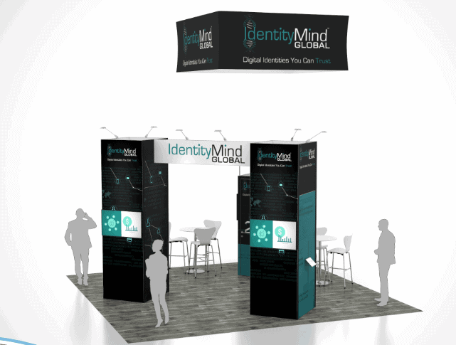 20 x 20 Outdoor Retailer Show Booth Rental 5