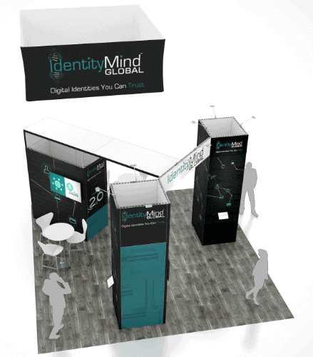 20 x 20 Outdoor Retailer Show Booth Rental