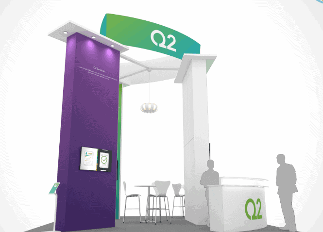 20 x 20 AHR Trade Show Exhibit Rental