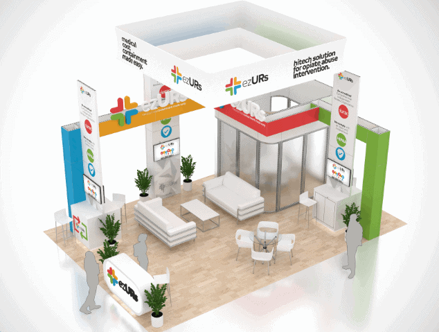 20 x 30 Trade Show Exhibit Rental