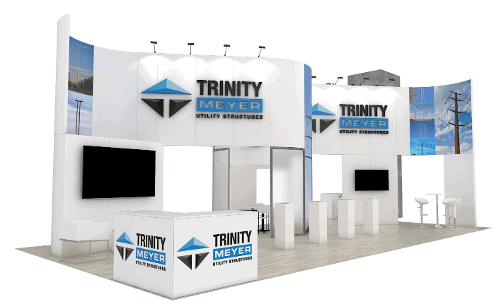 20 x 40 Trade Show Booth Builder 3