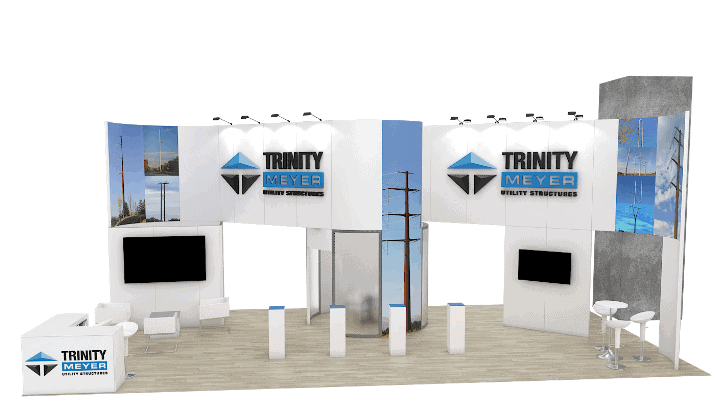 20 x 40 Trade Show Booth Builder 4