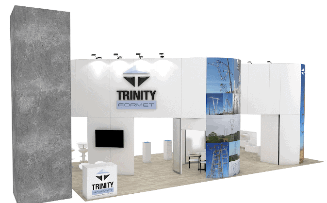 20 x 40 Trade Show Booth Builder