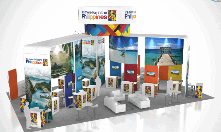 30 x 50 Tourism Exhibit Rental  2