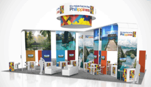 30 x 50 Tourism Exhibit Rental