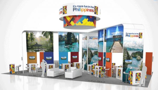 30 x 50 Tourism Exhibit Rental