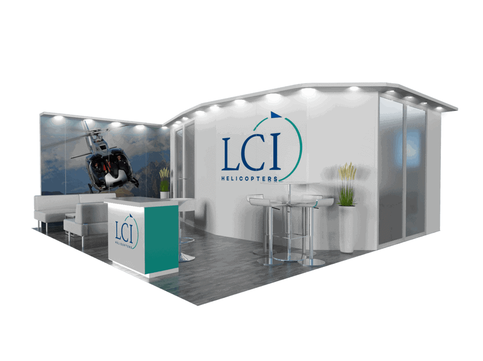 20 x 20 InfoComm Modular Exhibit Rental