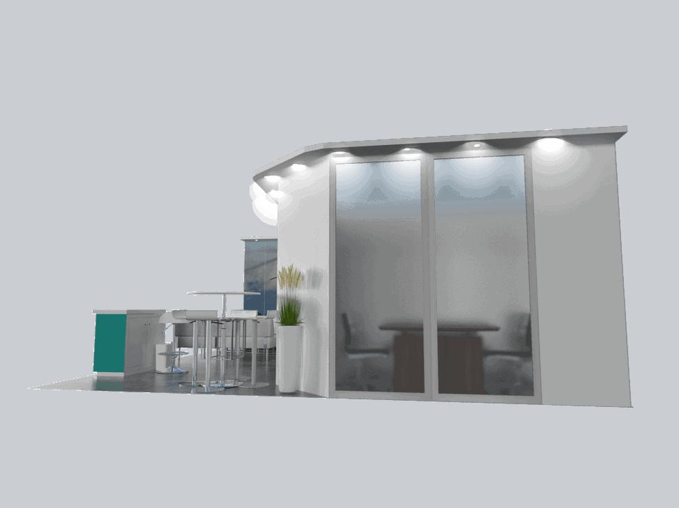 20 x 20 Heli Expo Exhibit Rental 3