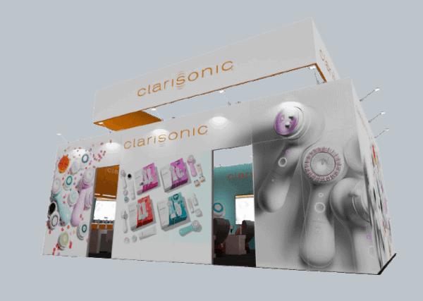 20 x 30 Cosmoprof 2019 Exhibit