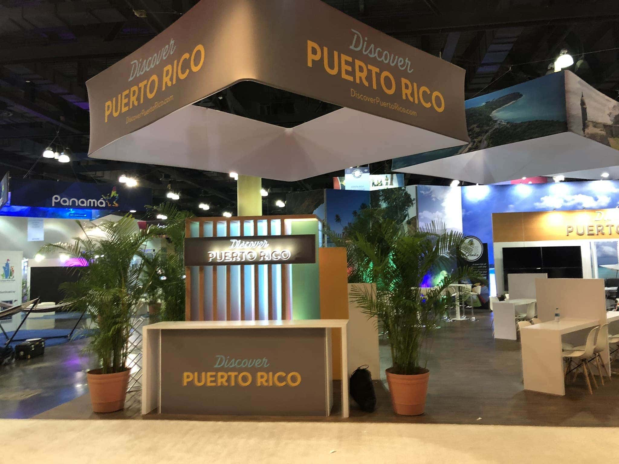 Live Puerto Rico Booth